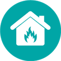 FIRE-RISK icon