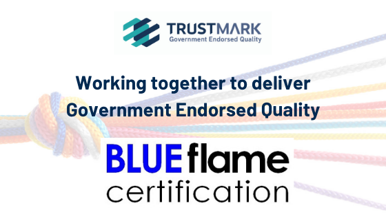 TrustMark welcomes Blue Flame Certification as a Scheme Provider (1)